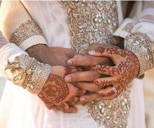 Mehndi Hands Couple : Images about bridal mehndi hands 💕 on we heart it see more