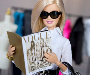 barbie and vogue image