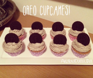 cake, choclate, and cupcakes image