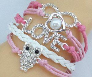 love, bracelet, and girl image