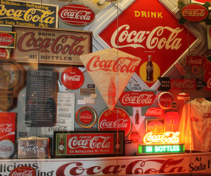 coca-cola, life, and vintage image