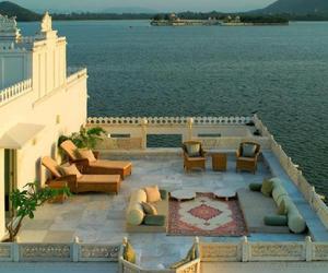 holiday, sea, and veranda image
