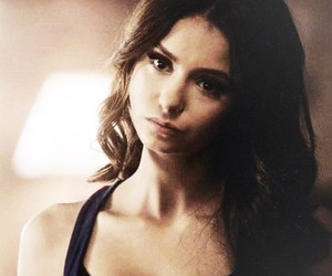 Nina Dobrev, katherine pierce, and tvd image