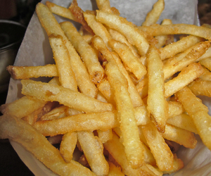 French Fries, fries, and love image