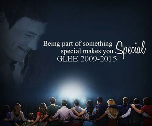 glee, cory monteith, and special image