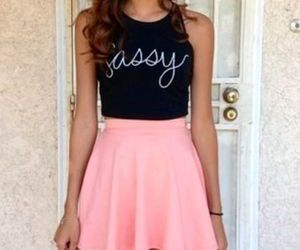 fashion, outfit, and sassy image