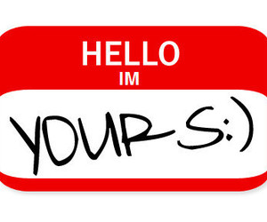 yours and hello image