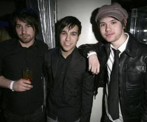 Jon, panic at the disco, and pete image