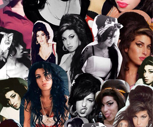 Amy Winehouse and Collage image
