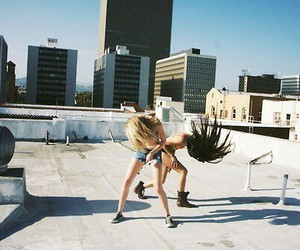 girl, fashion, and crazy image