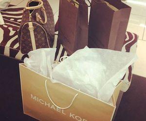 Michael Kors, Louis Vuitton, and bag image