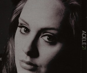 Adele, songs, and young image