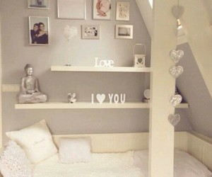white, bedroom, and room image