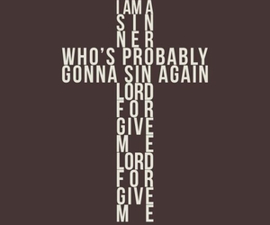 cross, quotes, and sinner image