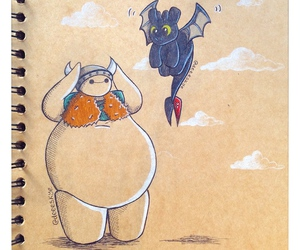 disney and baymax image