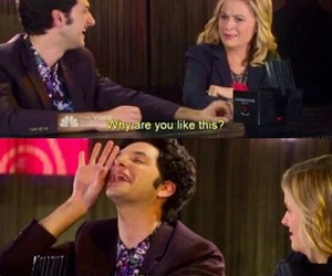 pills, parks and rec, and jean ralphio image