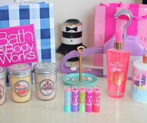 pink, Victoria's Secret, and baby lips image