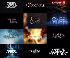 arrow, The Originals, and teen wolf image