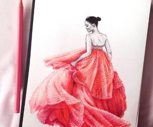 art, artist, and dibujo image
