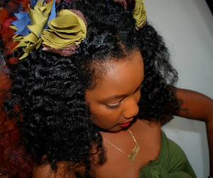 african american hair and cute image