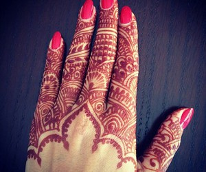 henna, henne, and art image