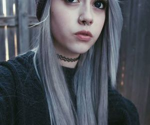 beautiful, piercing, and style image
