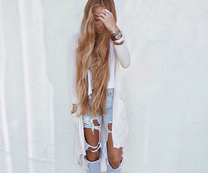 hair, fashion, and outfit image