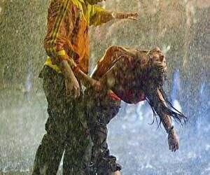 dance, rain, and step up image