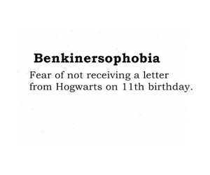 hogwarts and fear image