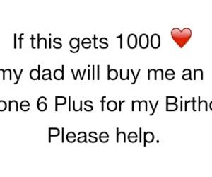 birthday, heart, and help image