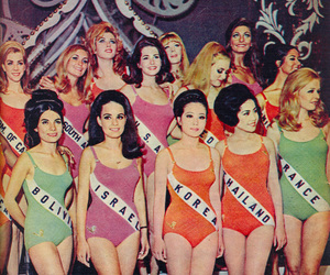 vintage, miss, and pageant image