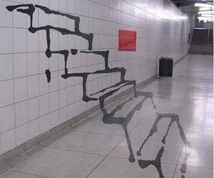 stairs, art, and graffiti image