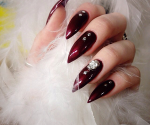 claws, glam, and gothic image