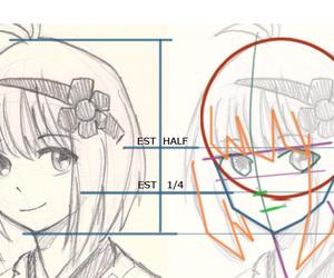 anime and drawing image