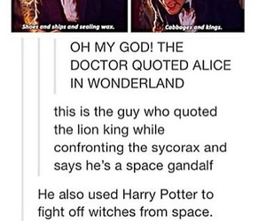 alice in wonderland, Avengers, and bbc image