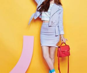 girl's day, yura, and kim ahyoung image
