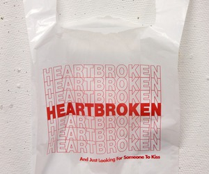 grunge and heart broken image