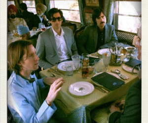 wes anderson and darjeeling limited image