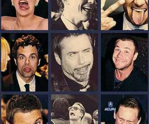 Avengers, robert downey jr, and chris evans image