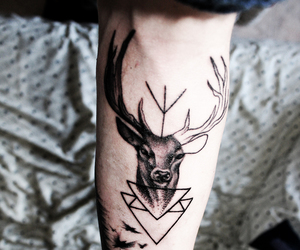 tattoo, harry potter, and indie image