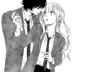 manga, monochrome, and shoujo image