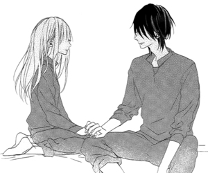 manga, black&white, and monochrome image