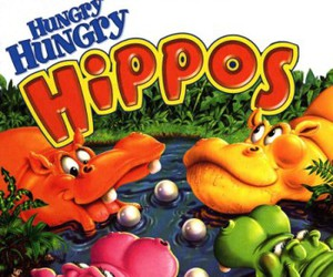 childhood, game, and hippo image