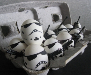 funny, eggs, and egg image