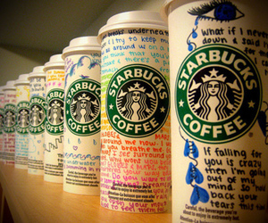 colorful, photography, and starbucks image