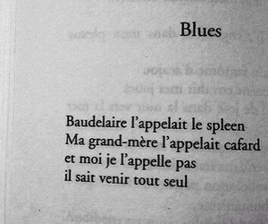 baudelaire, blues, and tristesse image