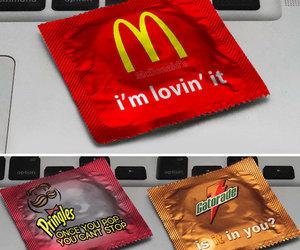 condom, gatorade, and funny image