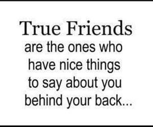 quote, friends, and true friends image