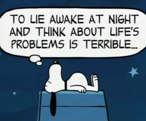 snoopy and problem image