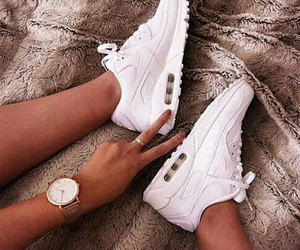 air max, girl, and swag image